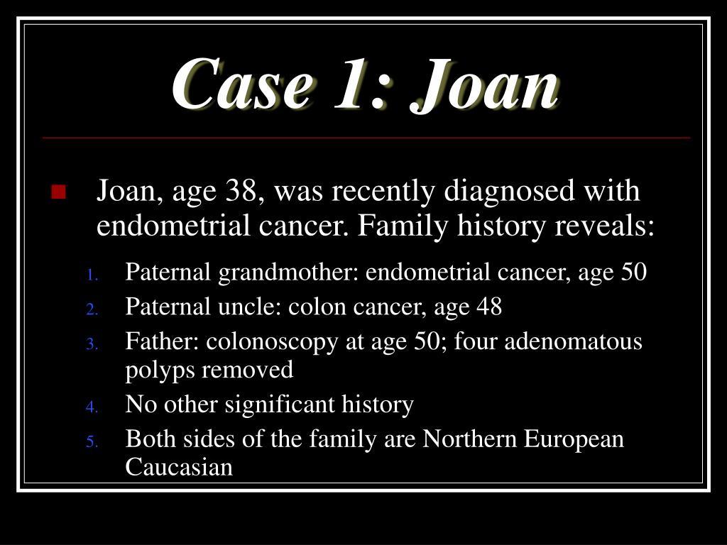 Case 1: Joan