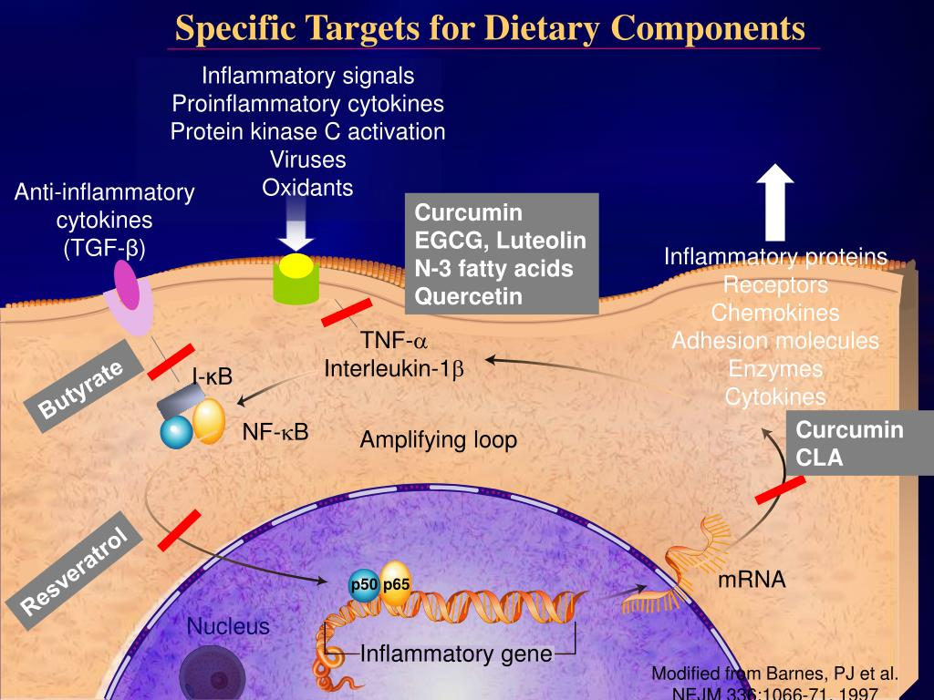 Specific Targets for Dietary Components
