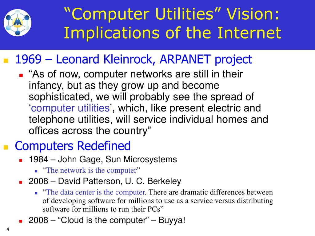 1969 – Leonard Kleinrock, ARPANET project