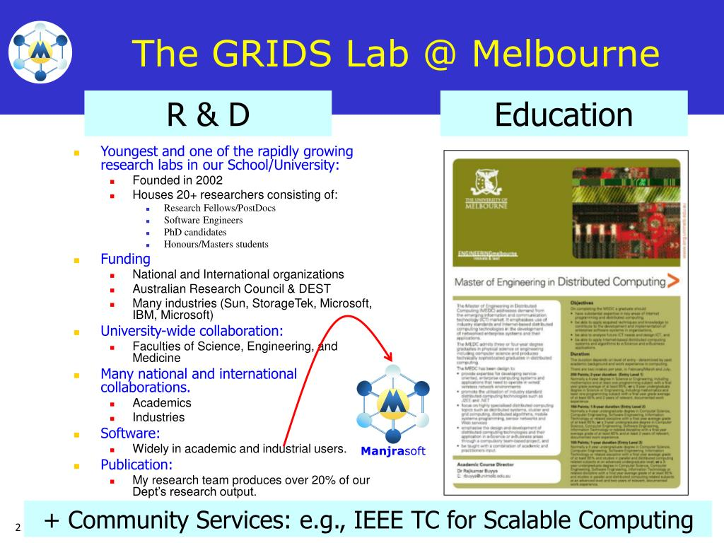 The GRIDS Lab @ Melbourne