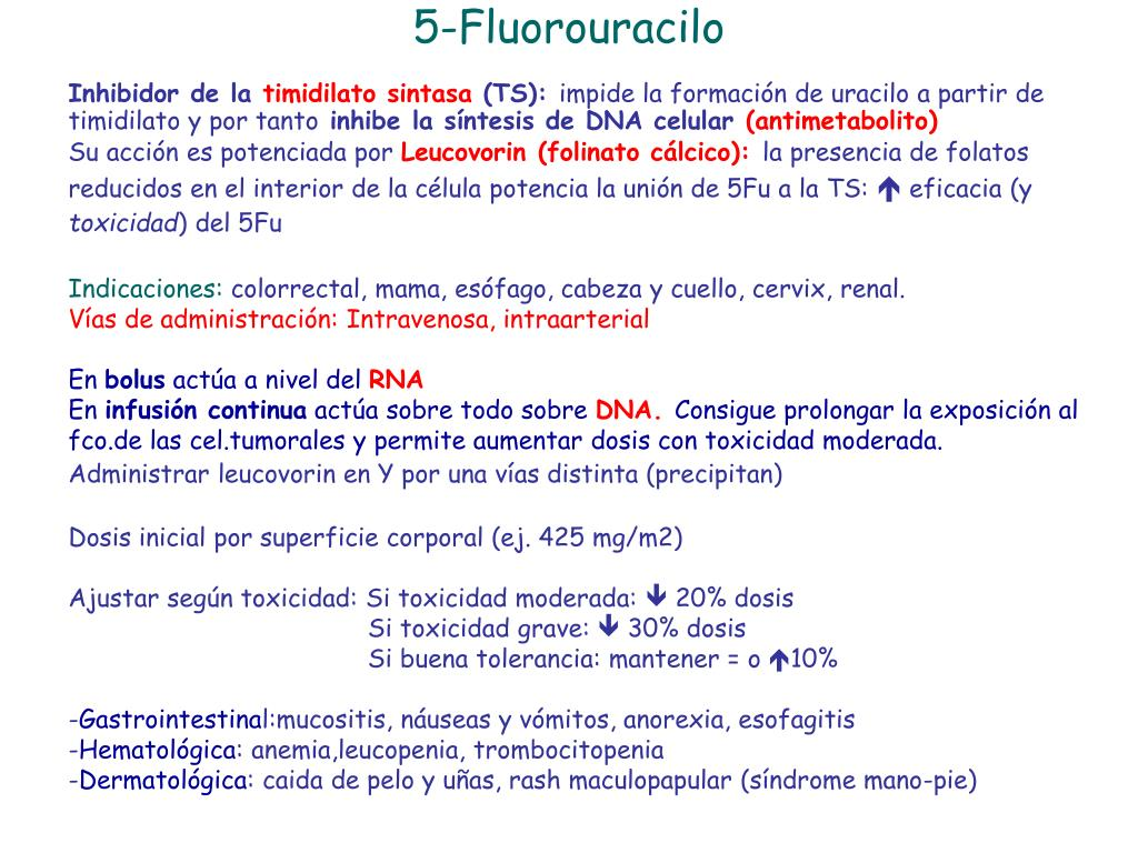 5-Fluorouracilo