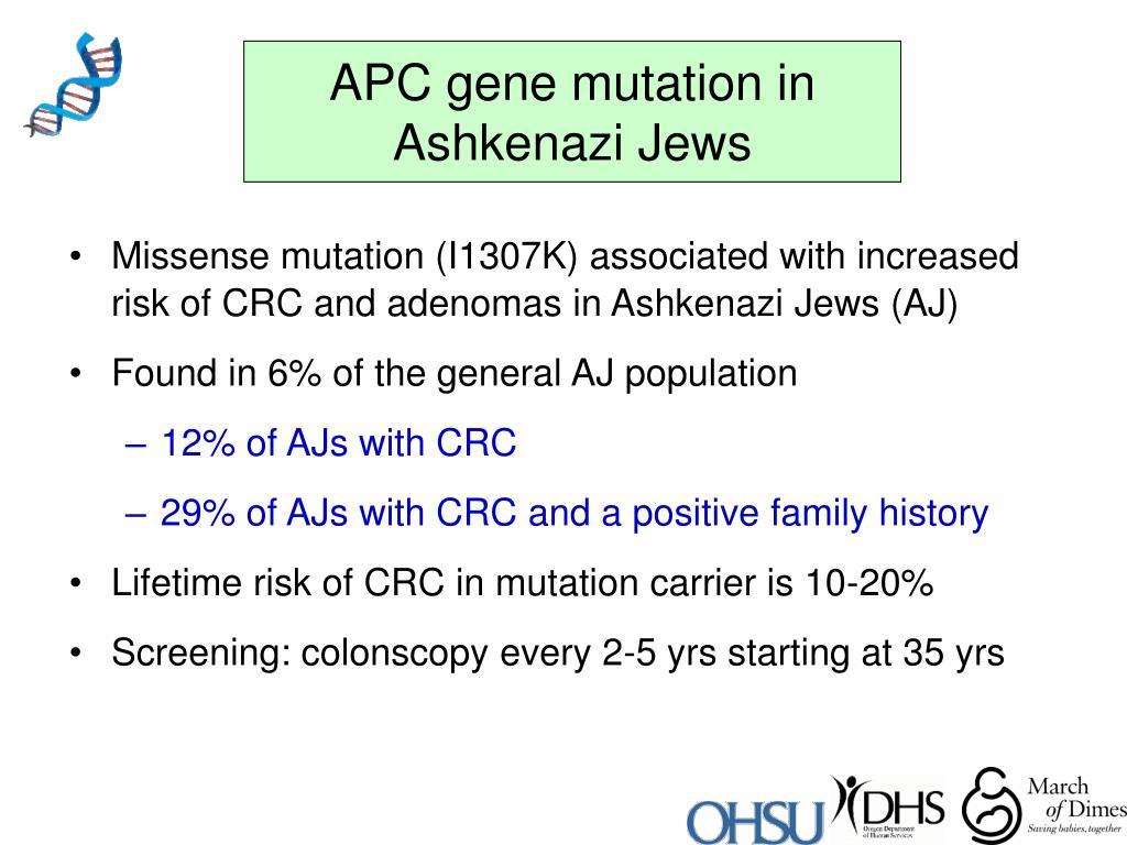 APC gene mutation in