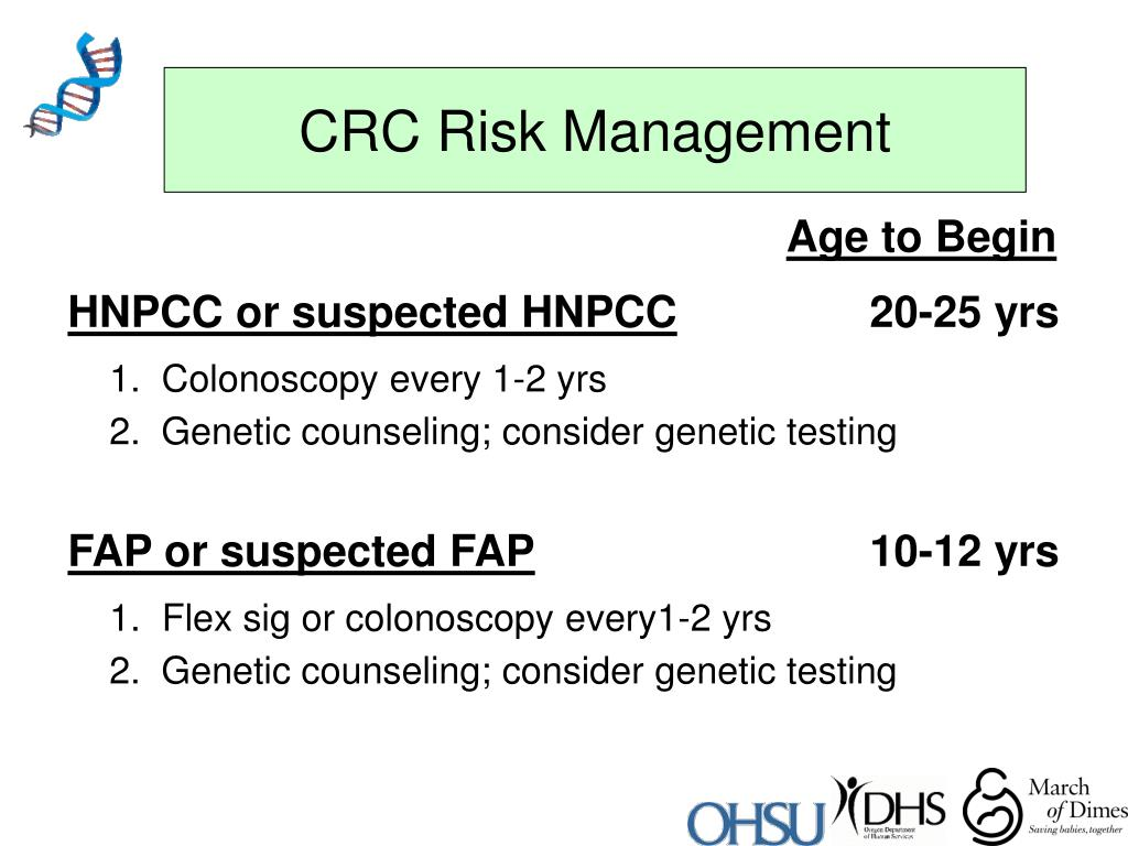 CRC Risk Management