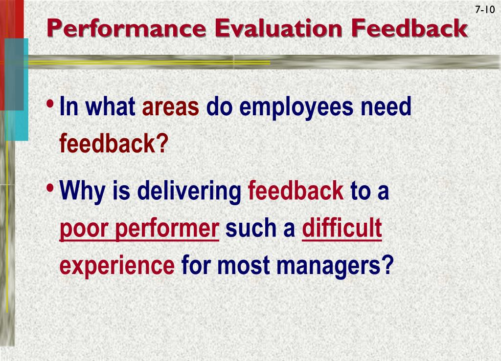 evaluation feedback and rewards Motivating teachers to improve instruction in the last two current school environments are a reward-scarce setting for professional work and often seem to work against teachers' best efforts to grow teacher evaluation recognition and feedback have been cited as important.