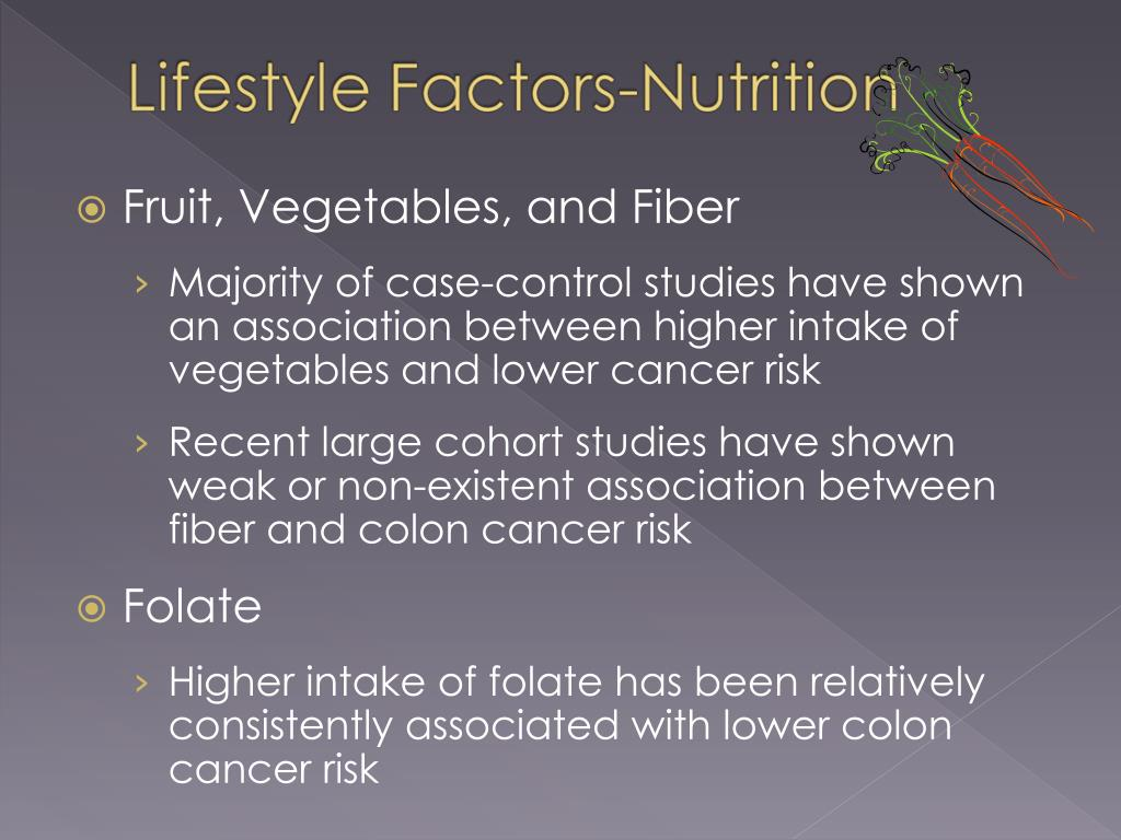 Fruit, Vegetables, and Fiber