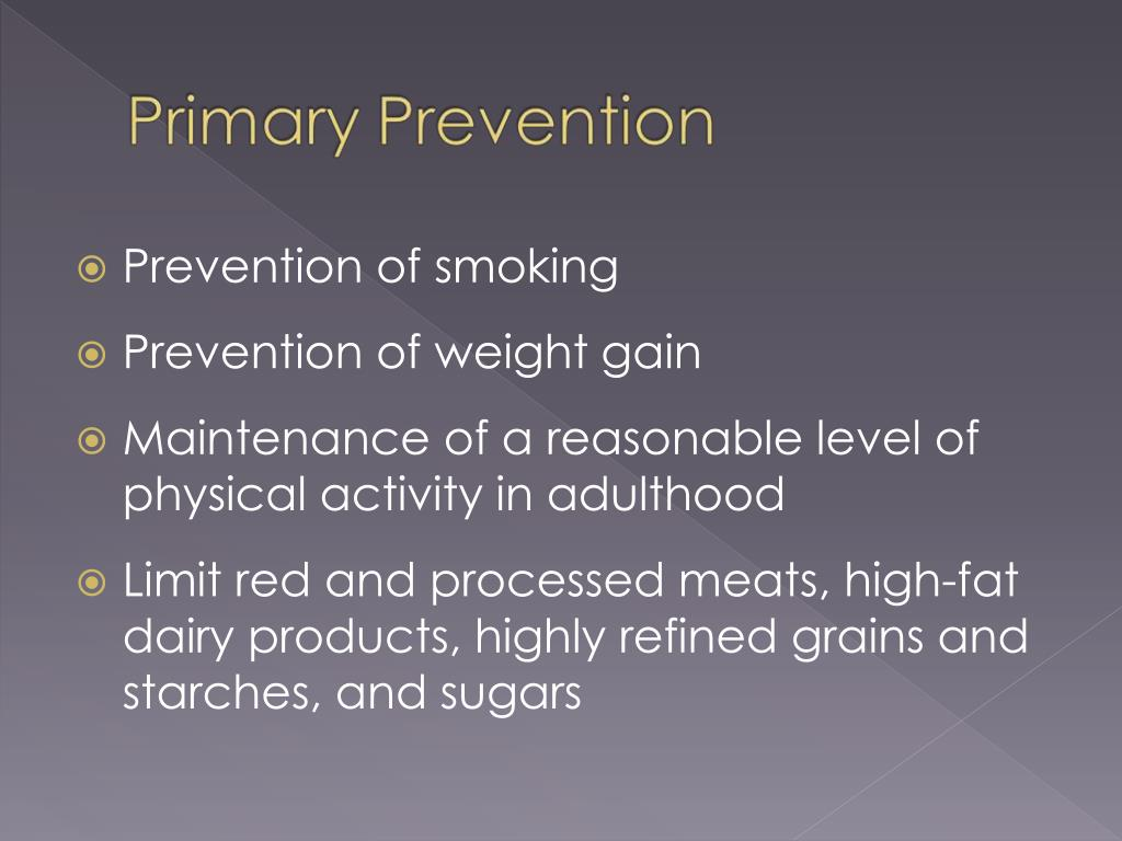 Prevention of smoking