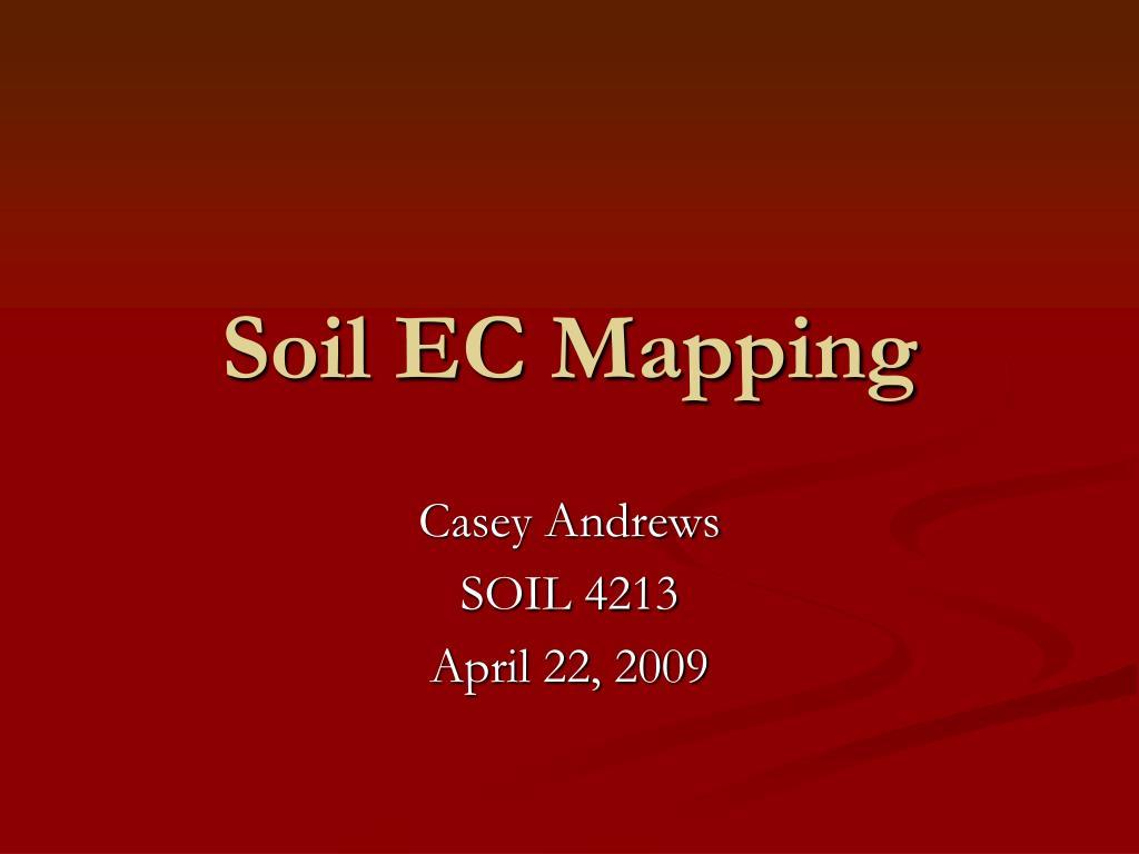 Soil EC Mapping
