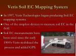 veris soil ec mapping system