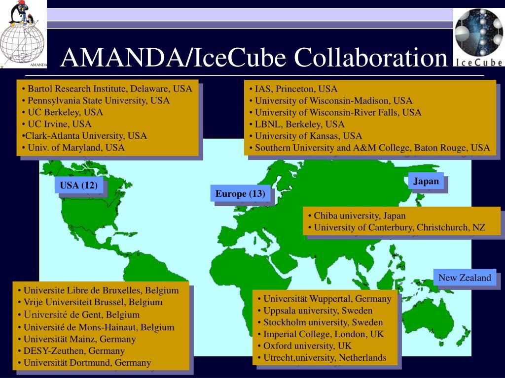 AMANDA/IceCube Collaboration