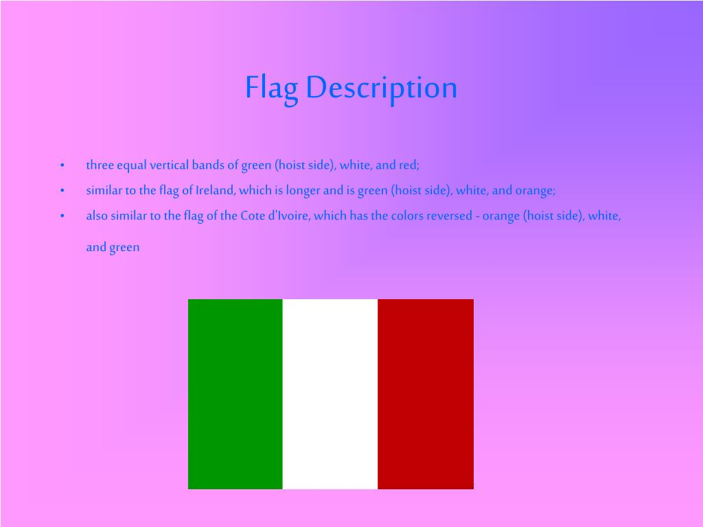 Flag Description