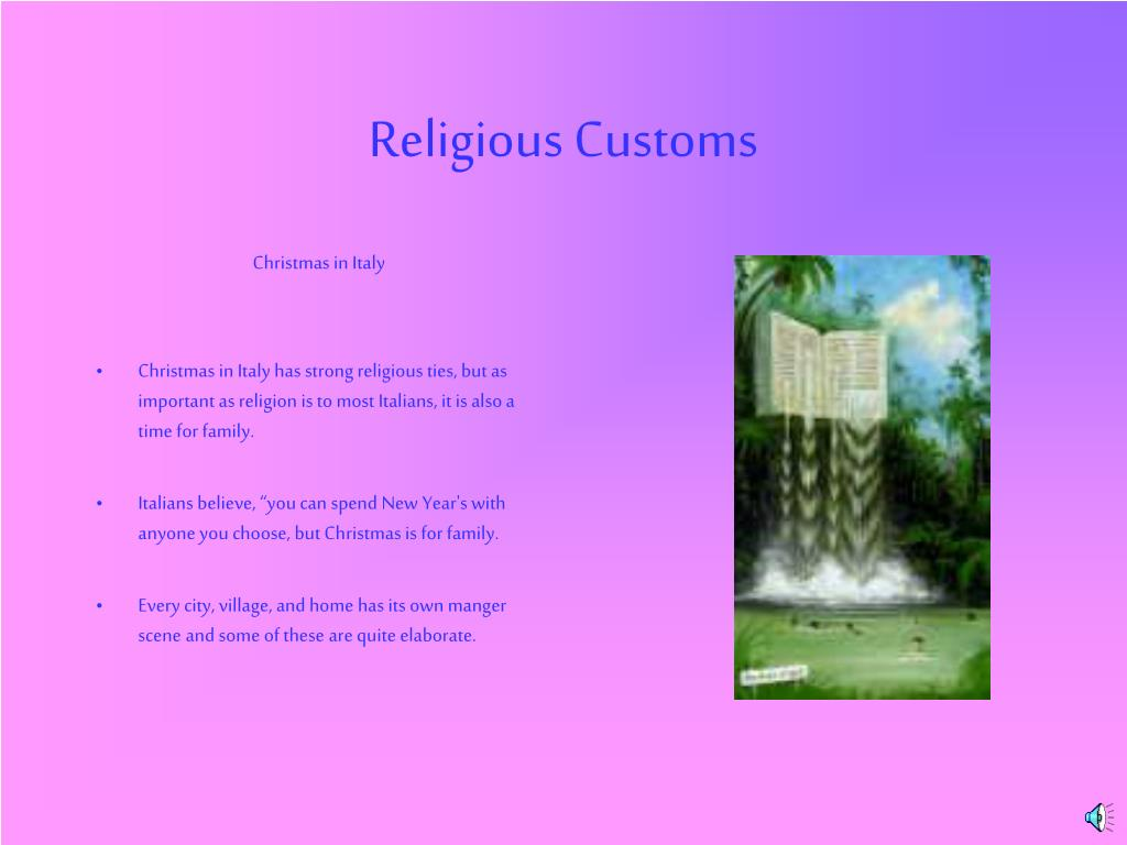 Religious Customs