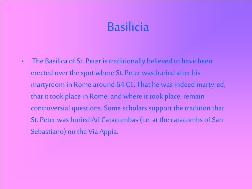Basilicia