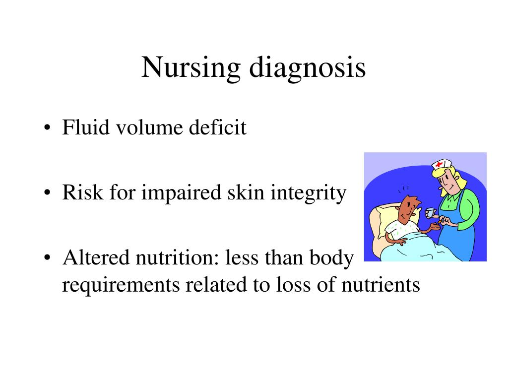 Nursing diagnosis