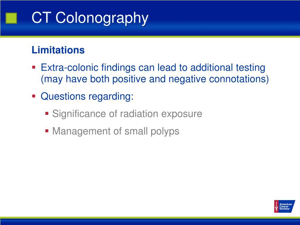 CT Colonography