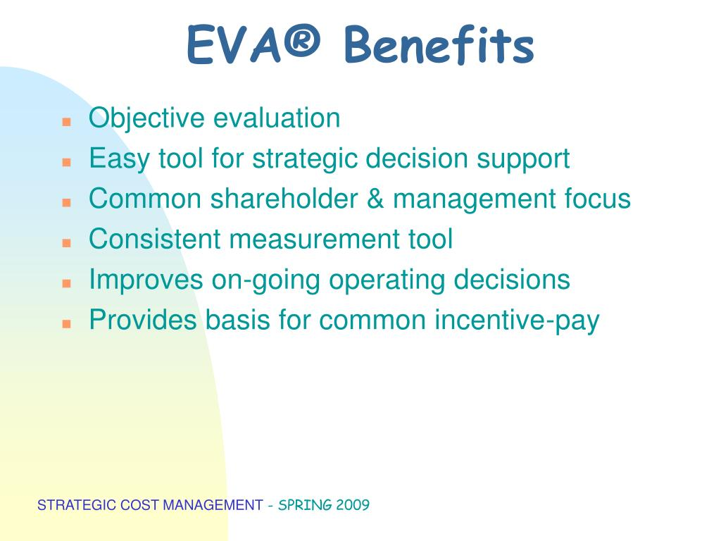 EVA® Benefits