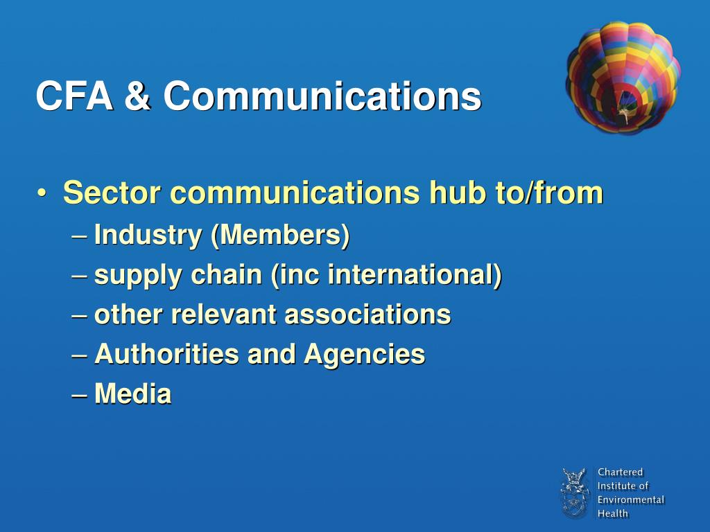 CFA & Communications