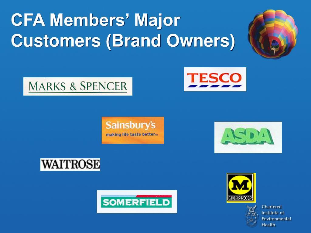 CFA Members' Major