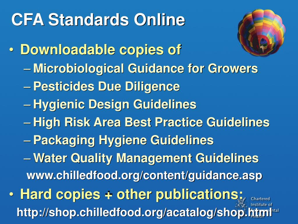CFA Standards Online