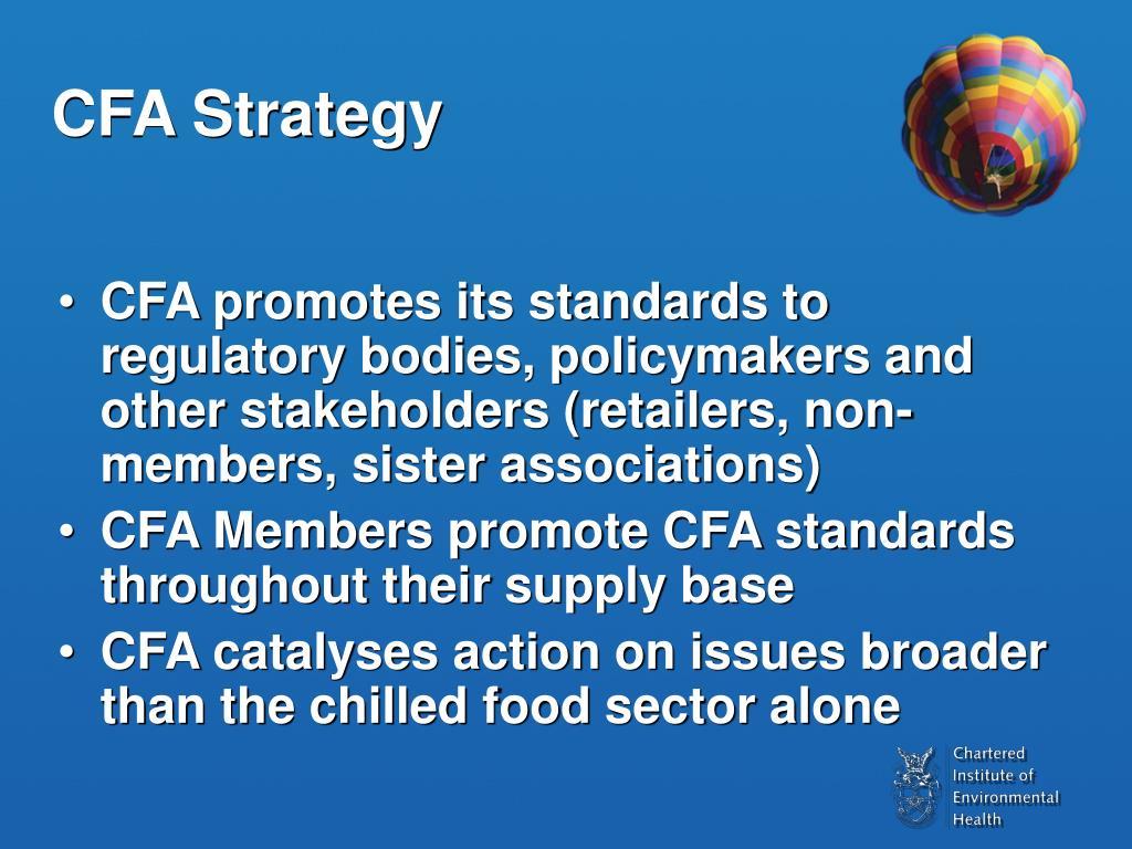 CFA Strategy