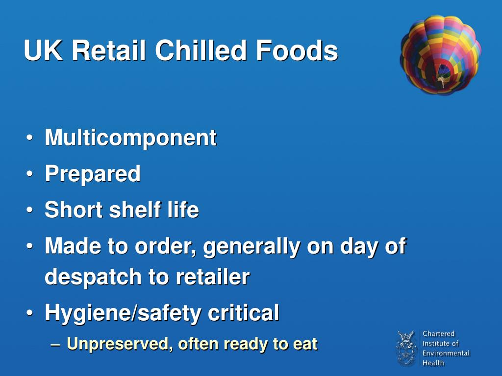 UK Retail Chilled Foods