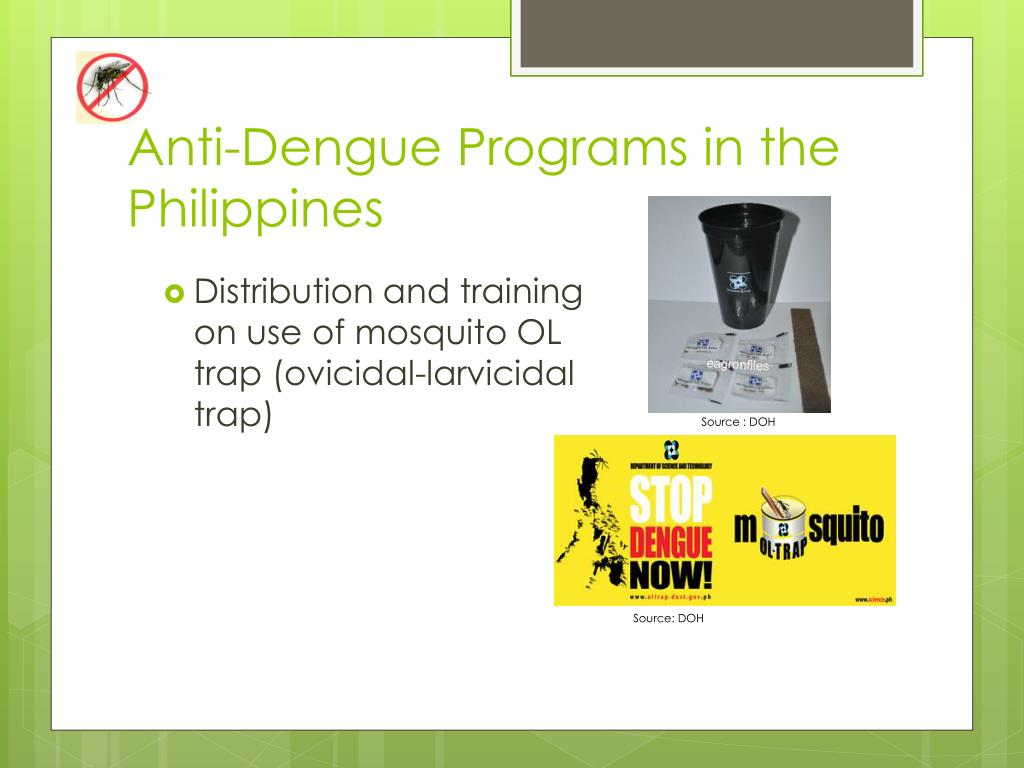 Anti-Dengue Programs in the Philippines