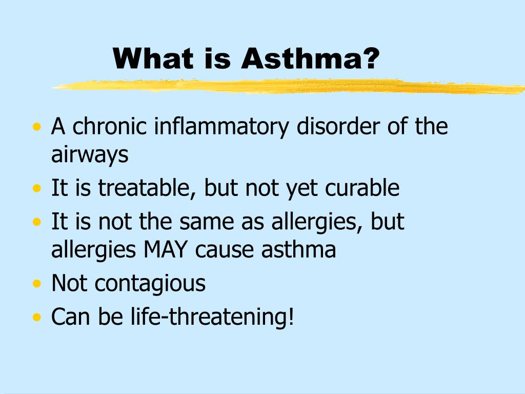 What is Asthma?