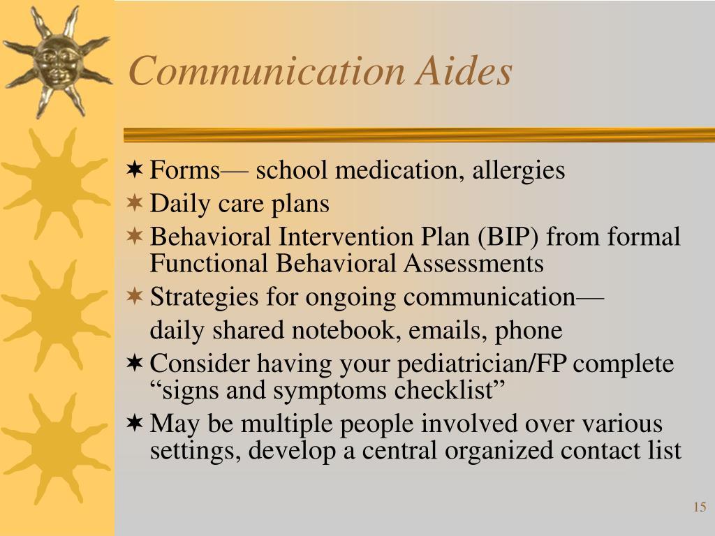 Communication Aides
