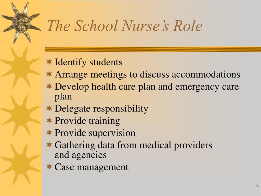 The School Nurse's Role