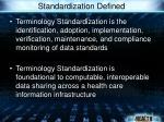 standardization defined