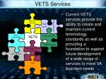 vets services