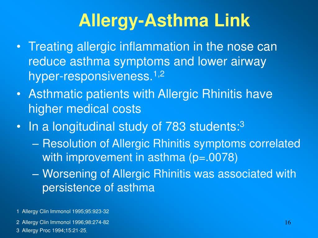 Allergy-Asthma Link
