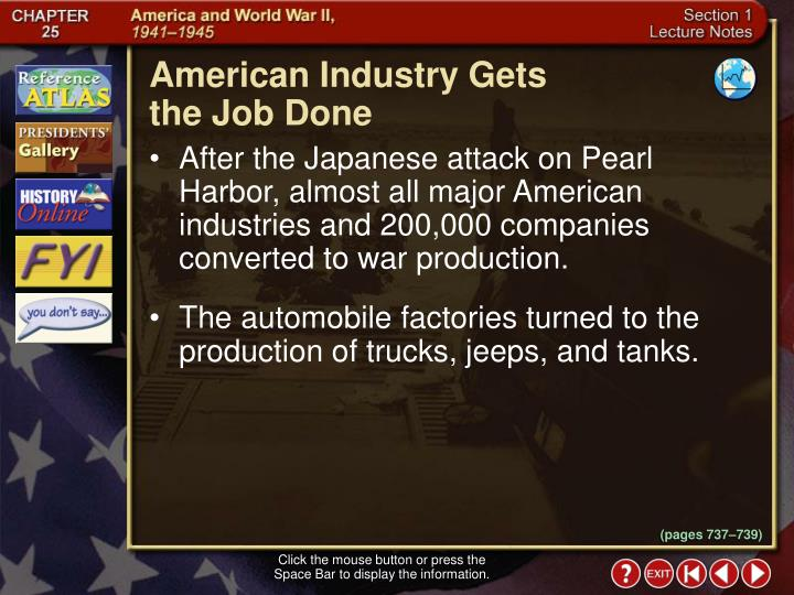 American Industry Gets