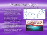 treatments allegra