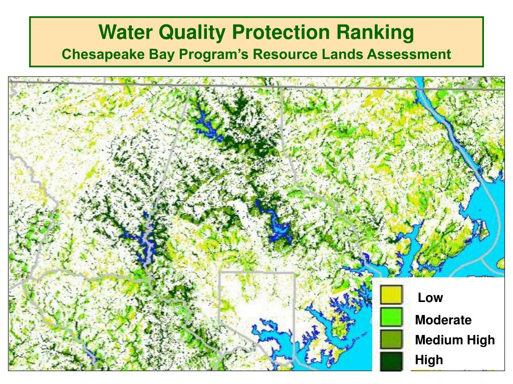 Water Quality Protection Ranking