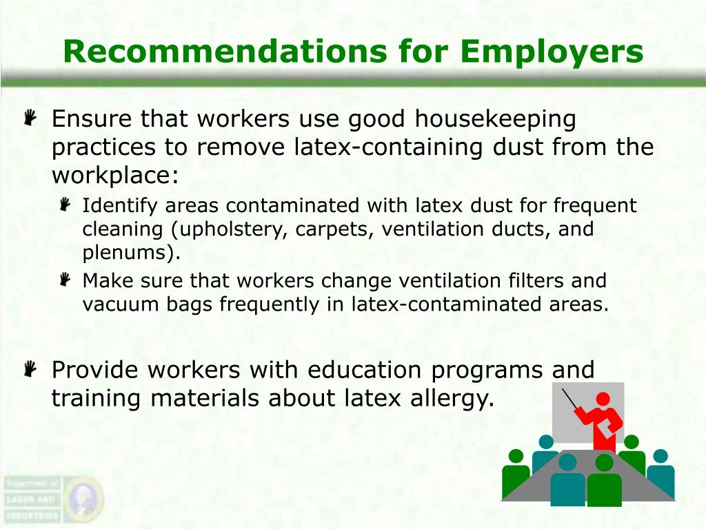 Recommendations for Employers