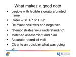 what makes a good note
