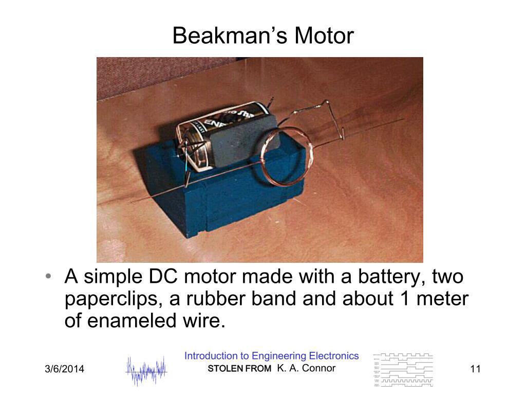 Beakman's Motor