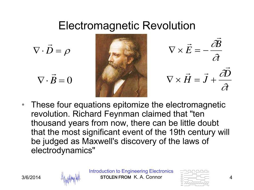 Electromagnetic Revolution