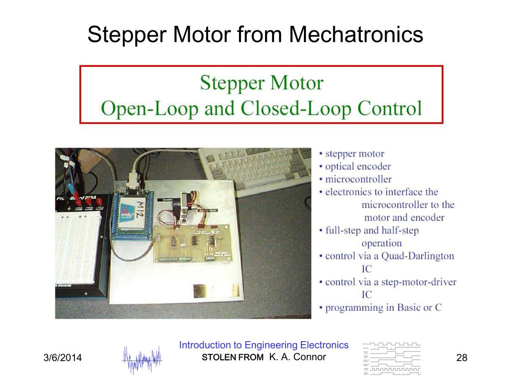 Stepper Motor from Mechatronics