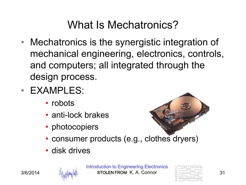What Is Mechatronics?