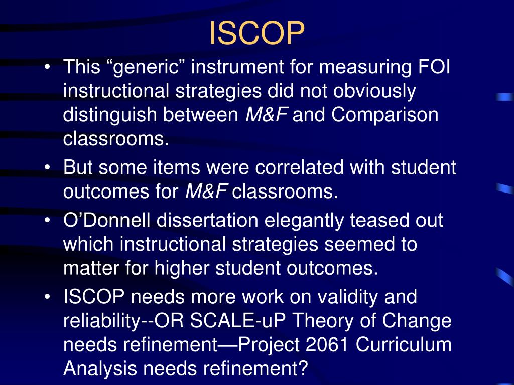 ISCOP