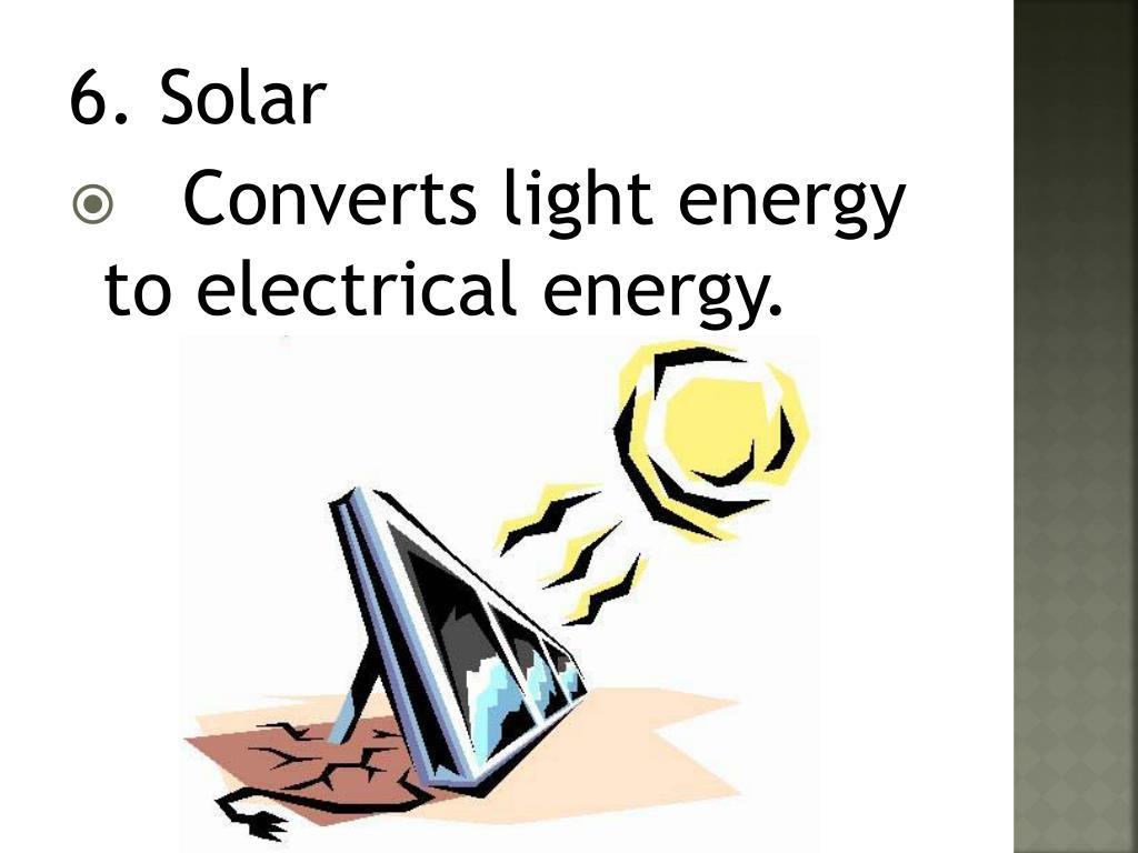 6. Solar