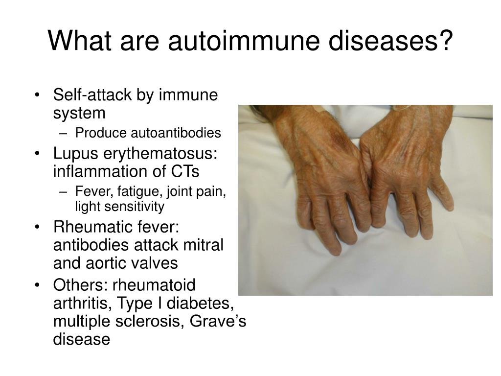 What are autoimmune diseases?