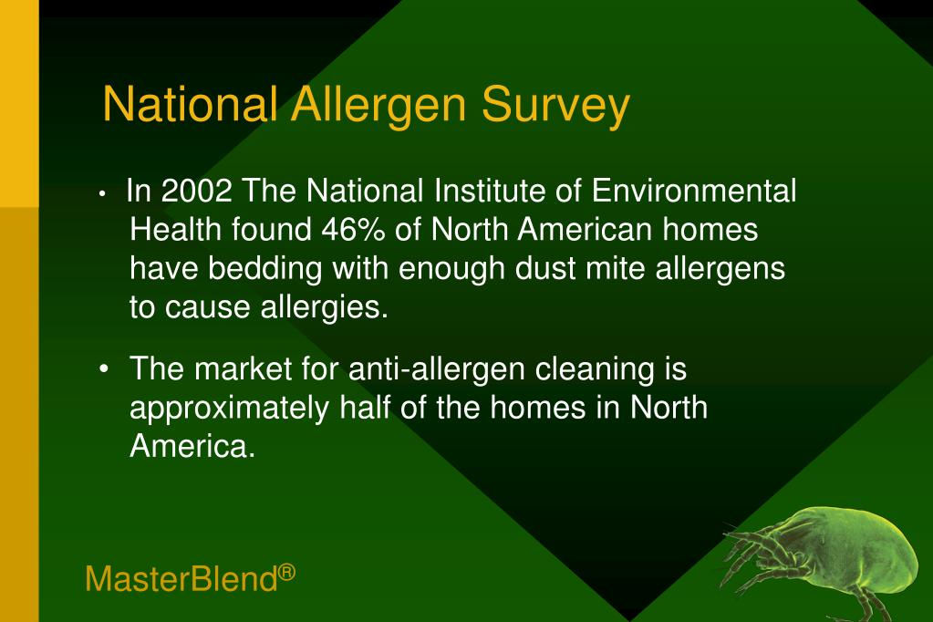 National Allergen Survey