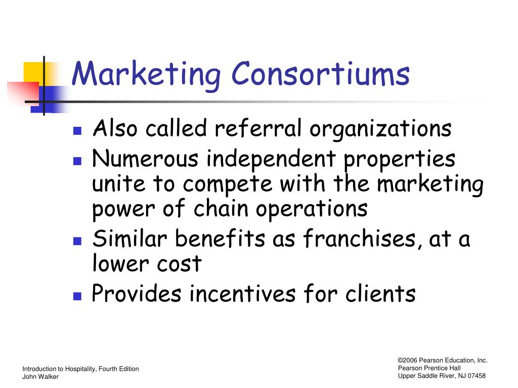 Marketing Consortiums