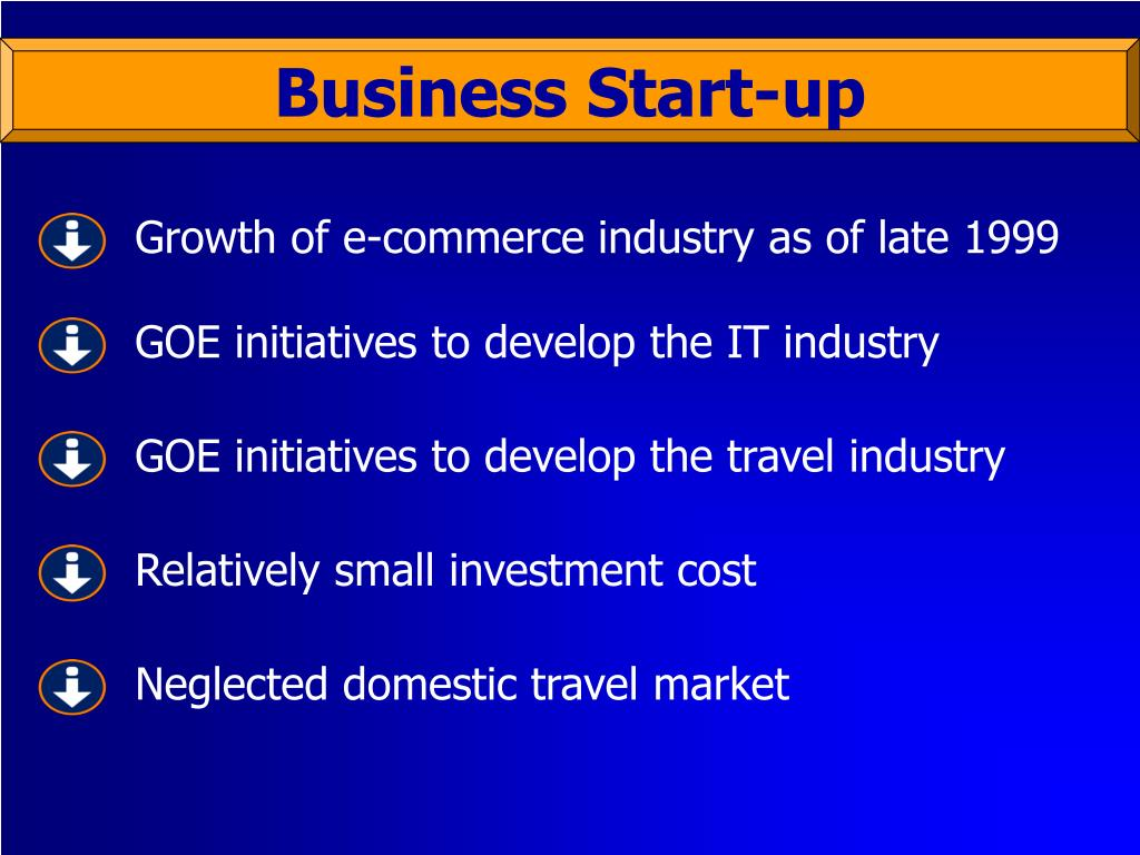 Growth of e-commerce industry as of late 1999
