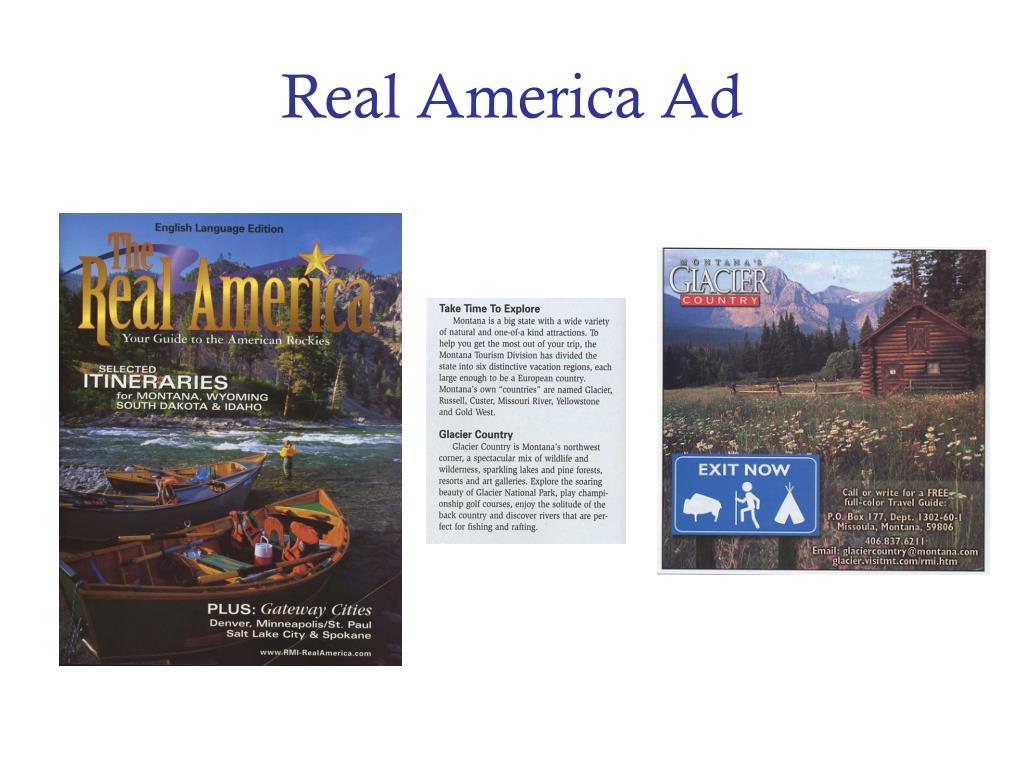 Real America Ad