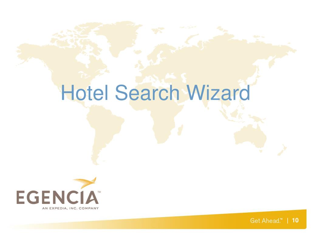 Hotel Search Wizard