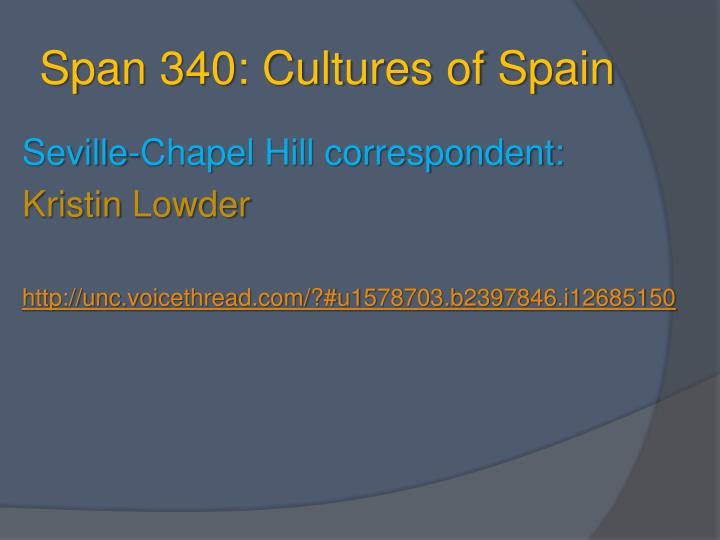 music of seville spain powerpoint slides
