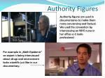 authority figures